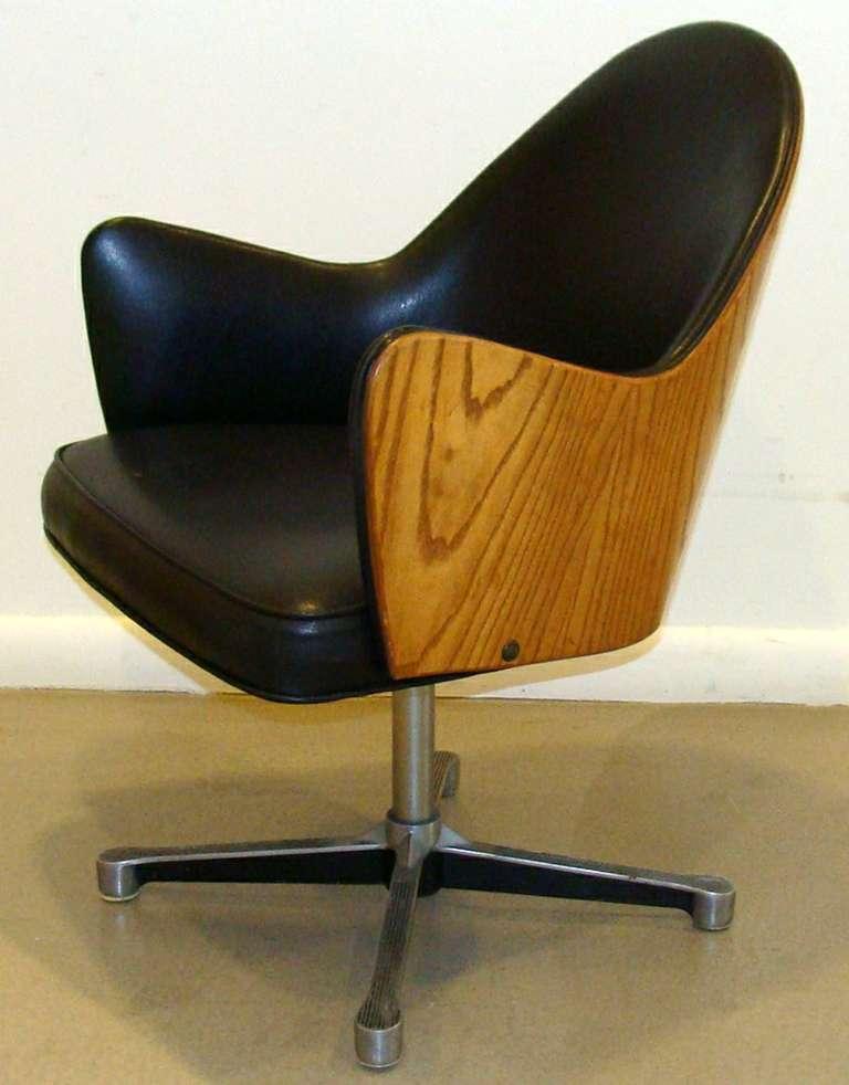 Rare Milo Baughman Work Chair 2