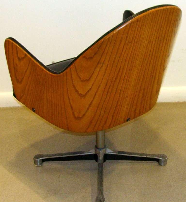 Rare Milo Baughman Work Chair 3