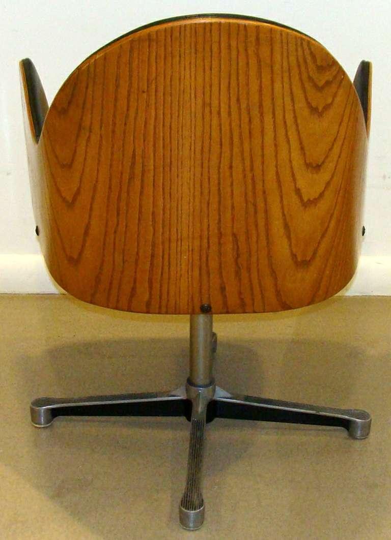 Rare Milo Baughman Work Chair 4