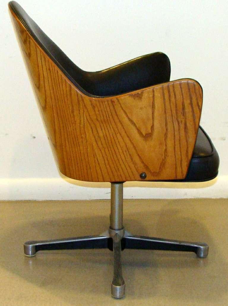 Rare Milo Baughman Work Chair 6