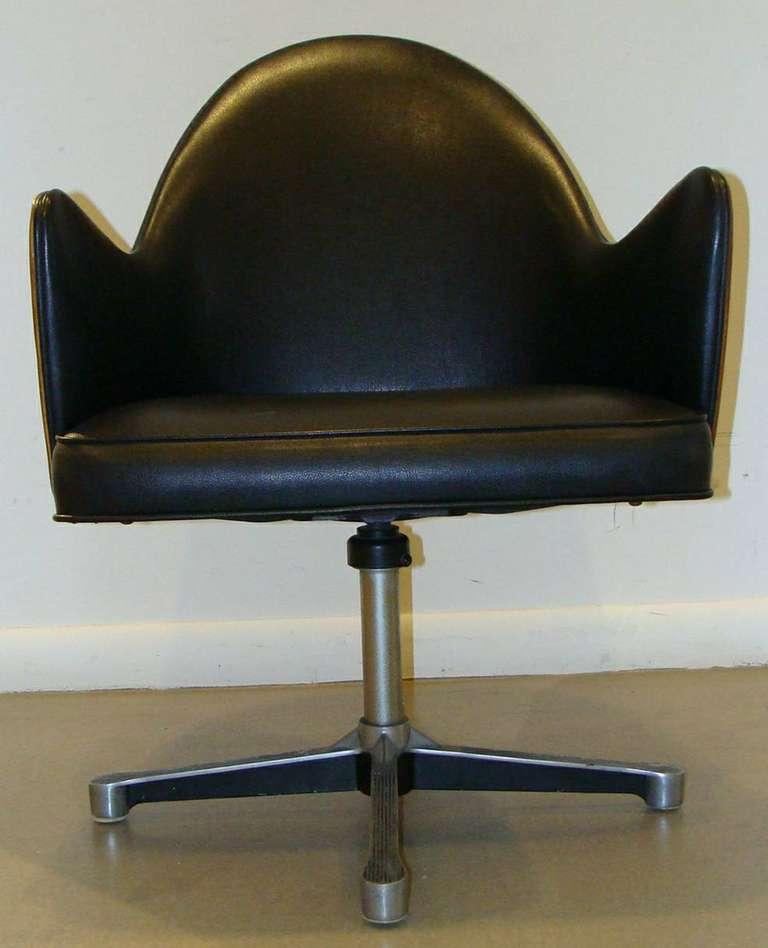 Rare Milo Baughman Work Chair 7
