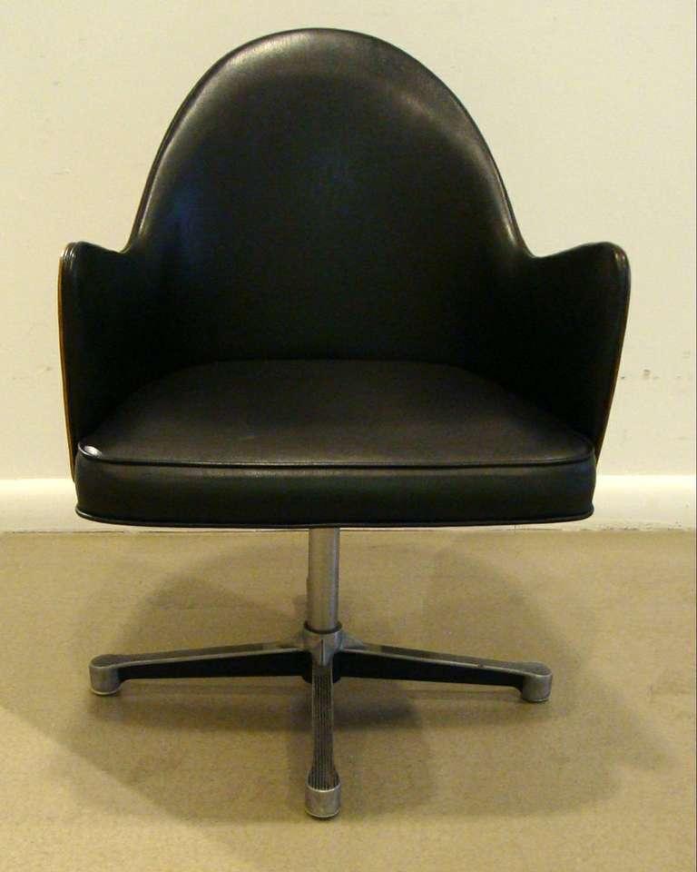 Rare Milo Baughman Work Chair 8