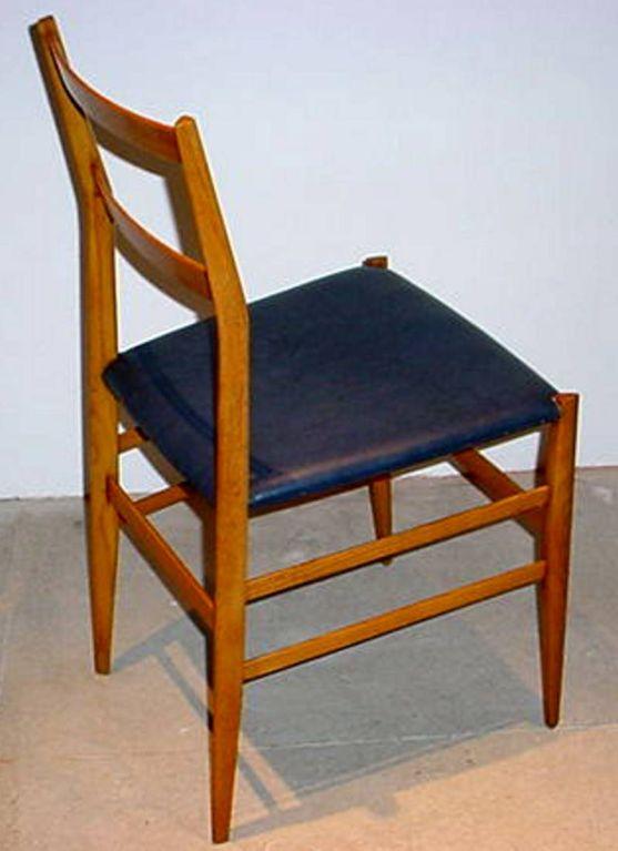 Italian Pair of GIO PONTI Superleggera Chairs For Sale