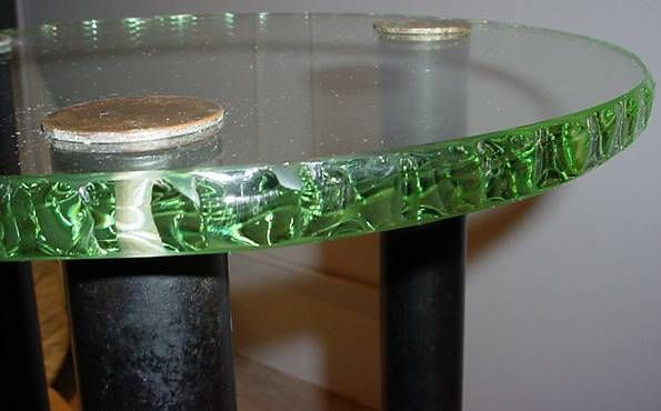 Three-Tier Table in the Style of Fontana Arte 4