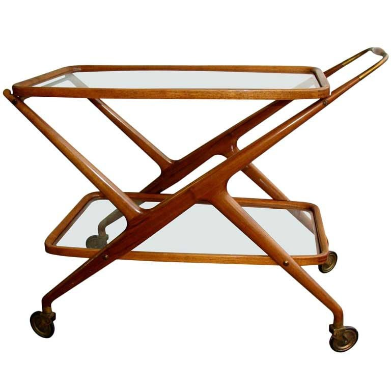 Cesare Lacca Serving Cart