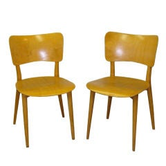 Pair of Chairs by Max Bill
