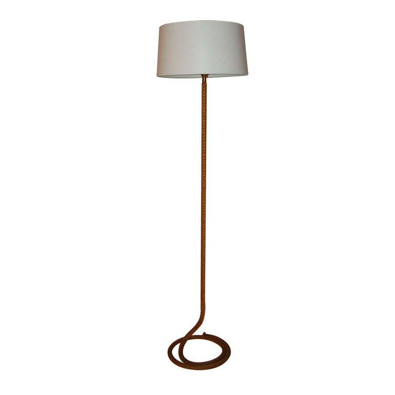 Quotropequot floor lamp at 1stdibs for Floor lamp with rope stand