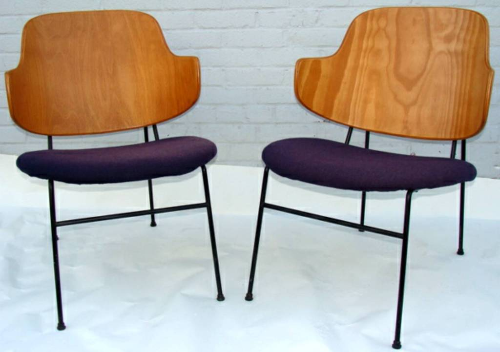 Pair of Chairs by Ib Kofod Larsen image 2
