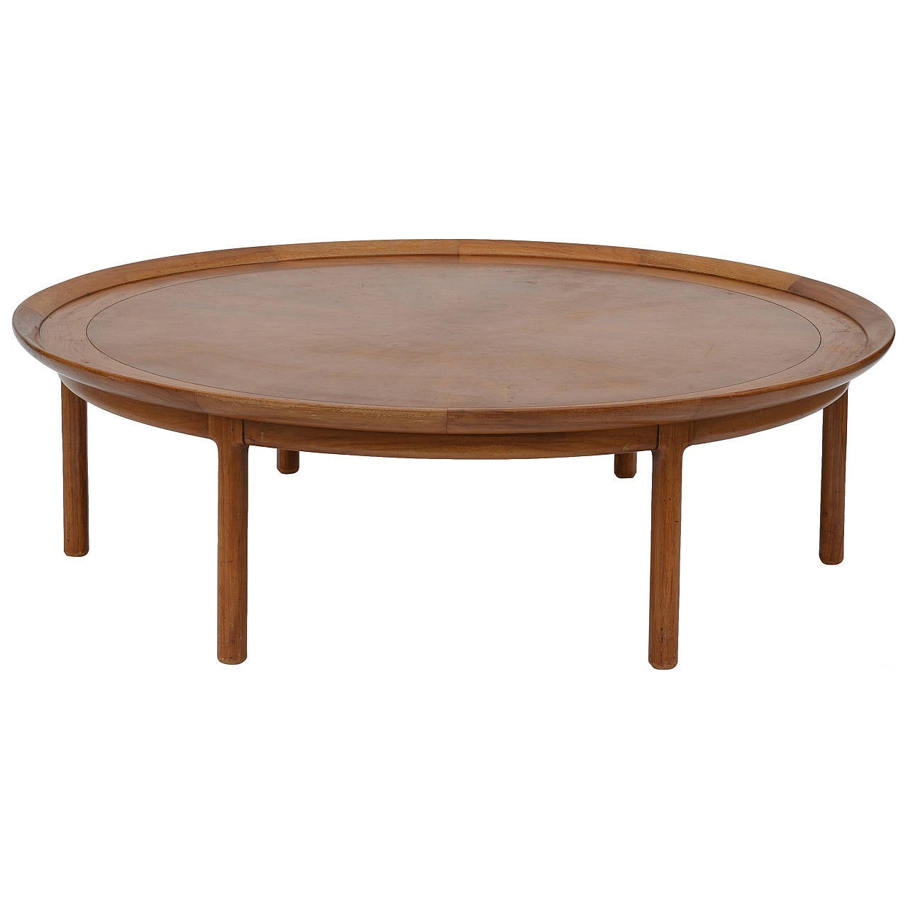exceptional oversized round coffee table at 1stdibs