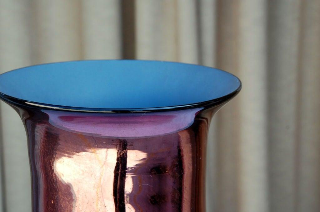 Large mercury glass decorative urn / vase 4