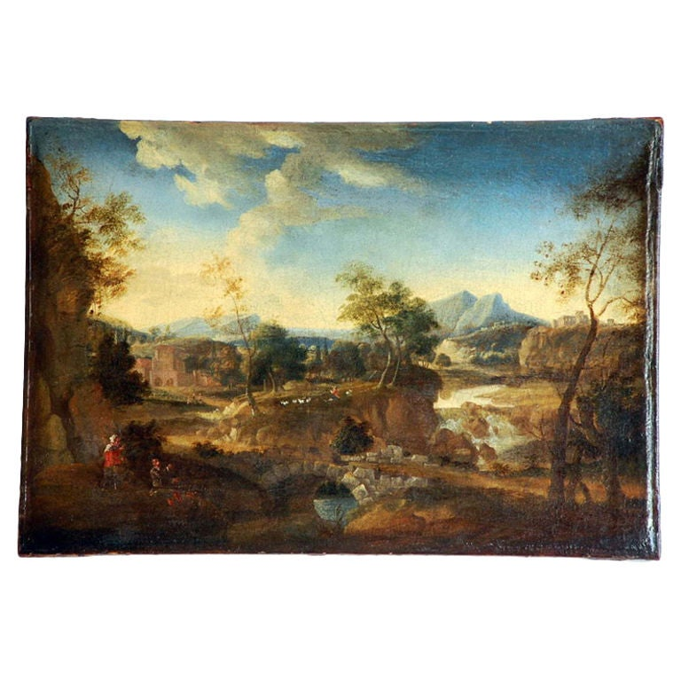 Early 17th Century French Landscape Painting