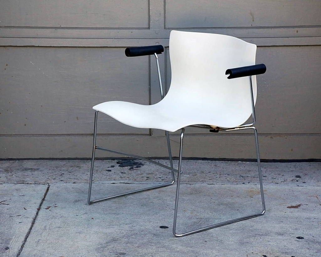 Set Of 4 Handkerchief Armchairs By Massimo Vignelli For Knoll For Sale At 1stdibs