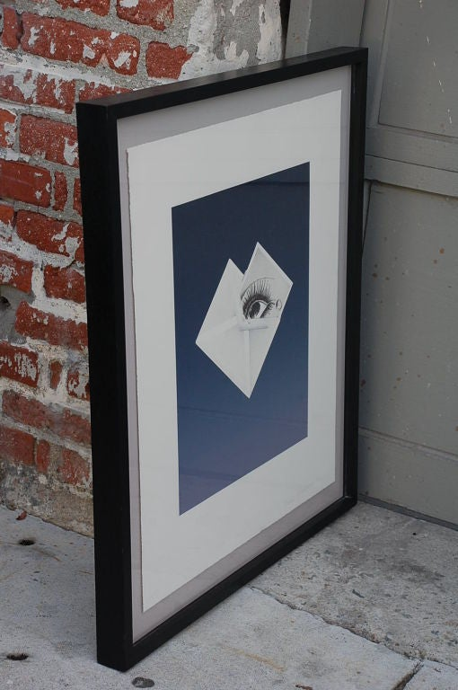 Surrealist Framed Print by Bruce Richards In Excellent Condition For Sale In Los Angeles, CA