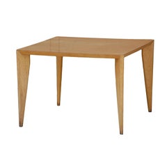 Bleached Wood Modernist Coffee/Side Table