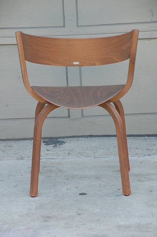 German Pair of 404 F chairs by Stefan Diez for Thonet For Sale