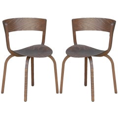 Pair of 404 F chairs by Stefan Diez for Thonet