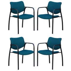 Set of 4 modern dining chairs by Mark Goetz for Herman Miller