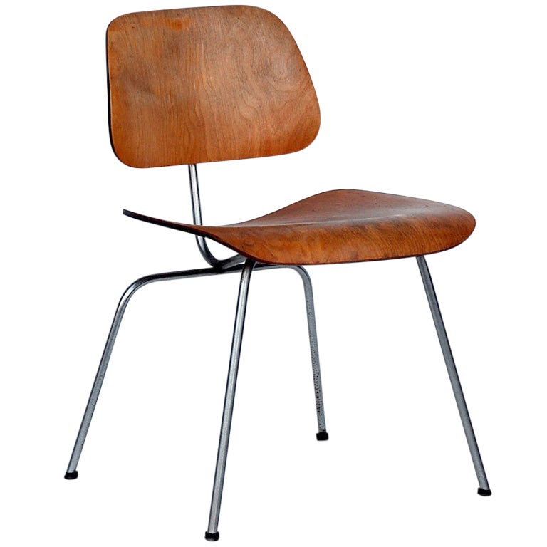 Collector s early Eames DCM chair For Sale at 1stdibs