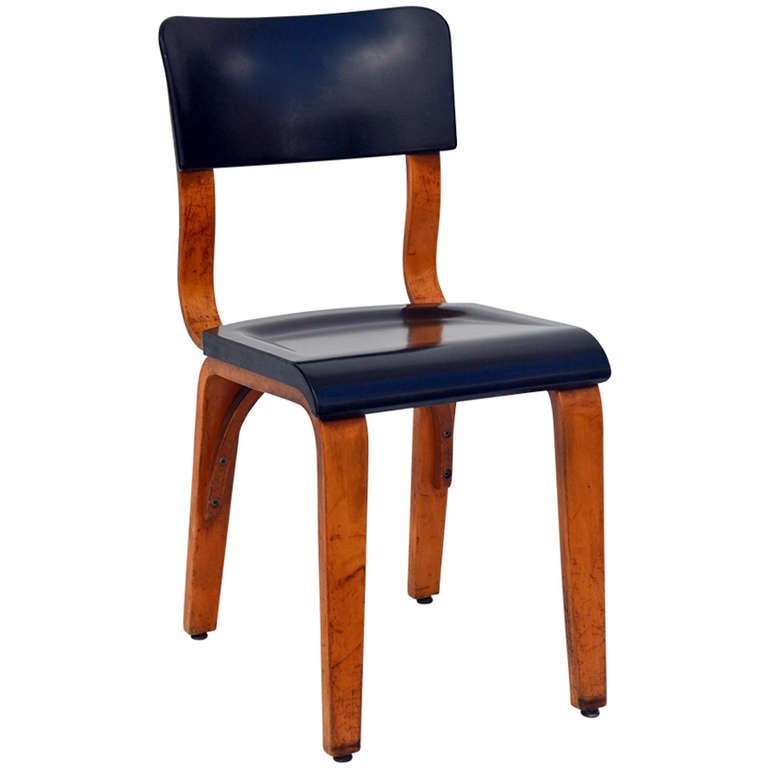 Rare Bakelite And Bentwood Chair By Thonet For