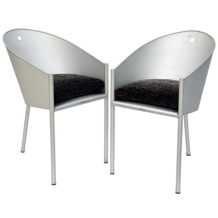 Pair of Sculptural Chairs by Philippe Starck For Sale