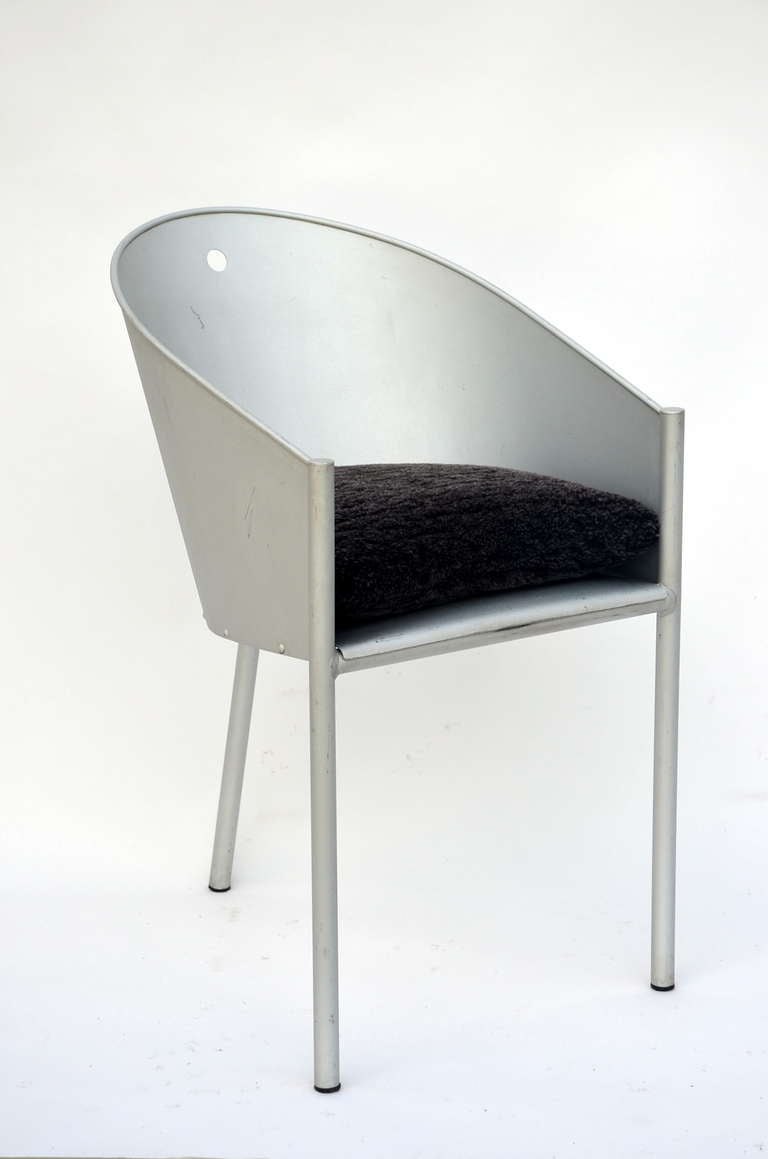 French Pair of Sculptural Chairs by Philippe Starck For Sale