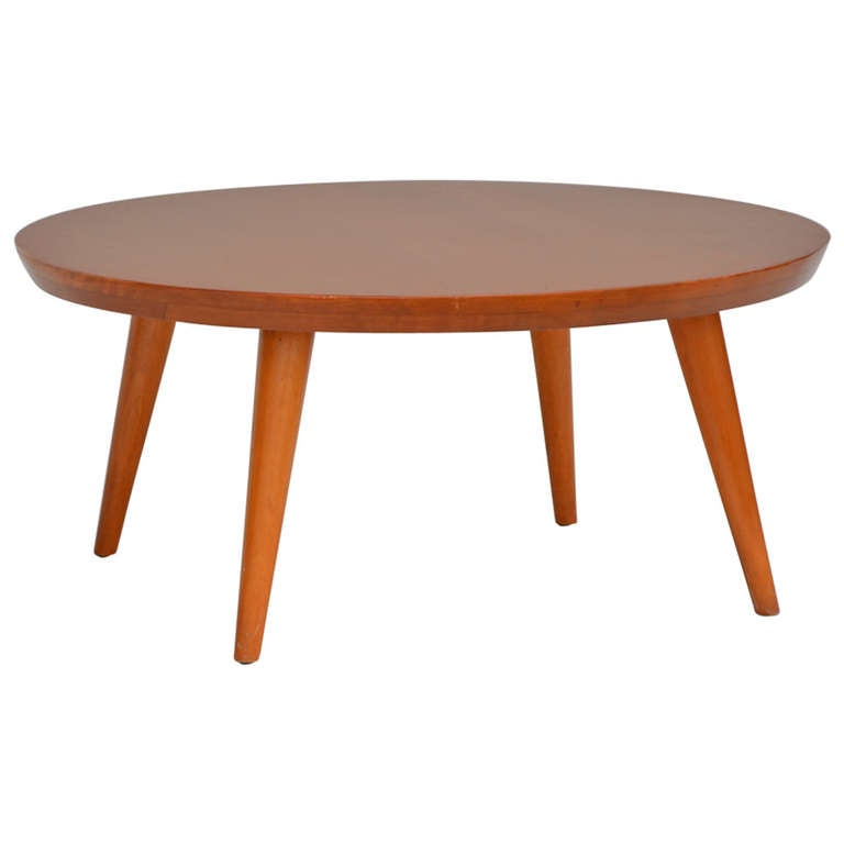 The Big Ball Coffee Table: 1950s Coffee Table By Russel Wright For Conant Ball At 1stdibs