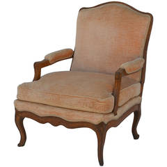 turned wood leg napoleon iii round bergere for sale at 1stdibs. Black Bedroom Furniture Sets. Home Design Ideas