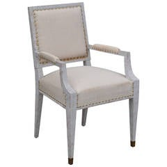 Chic French 1940s Armchair in the Style of Andre Arbus