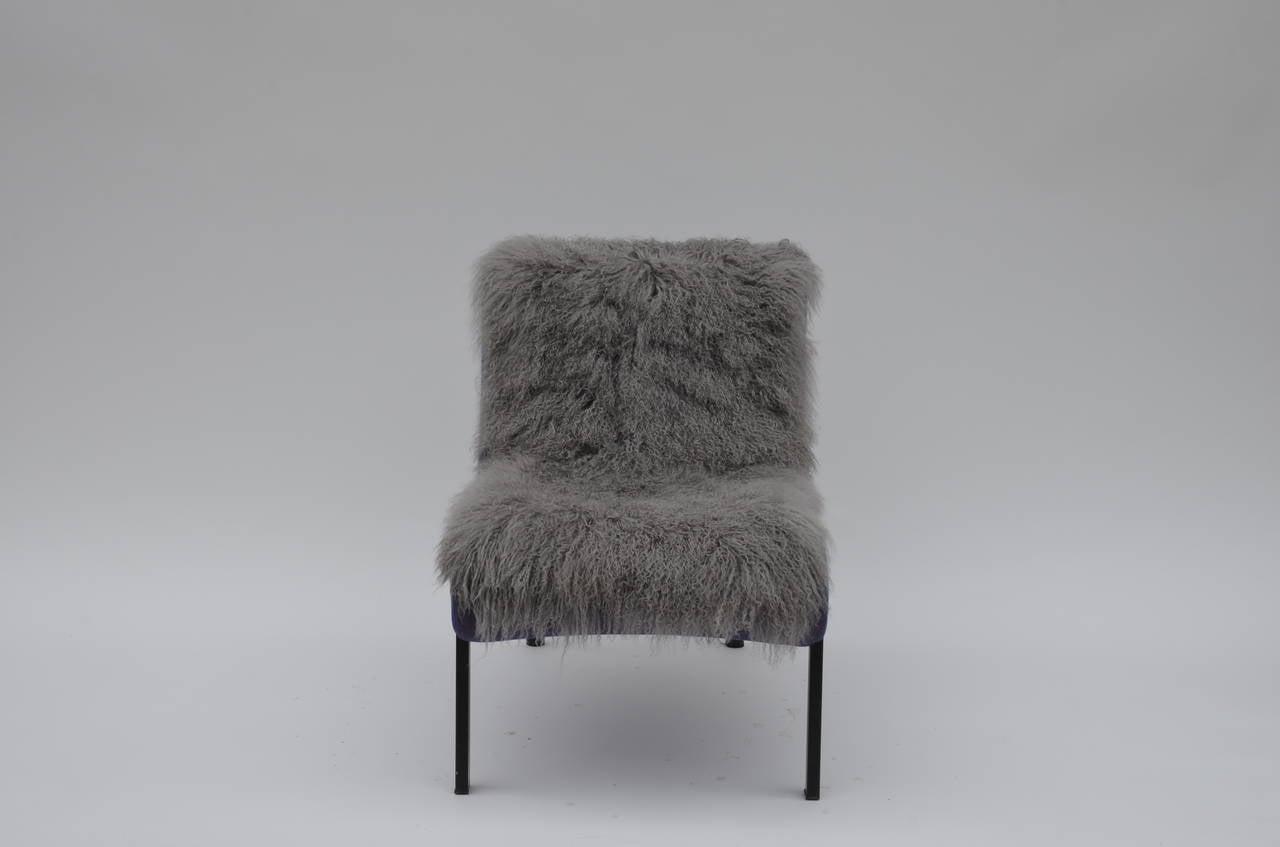 Modern Pair of Rare Slipper Chairs by Christian Biecher for Addform