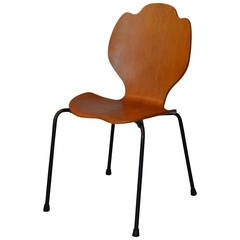 Experimental Arne Jacobsen Bentwood Side Chair