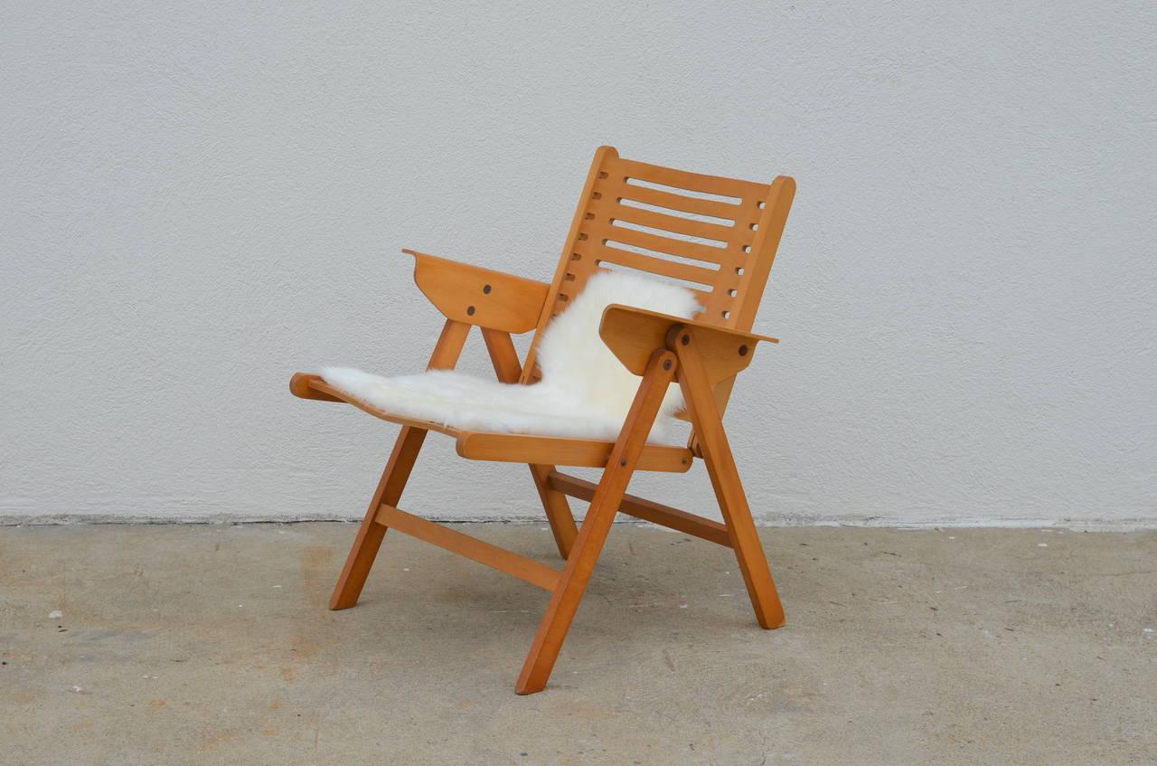 Pleasant Iconic Vintage Folding Rex Lounge Chair By Niko Kralj Theyellowbook Wood Chair Design Ideas Theyellowbookinfo