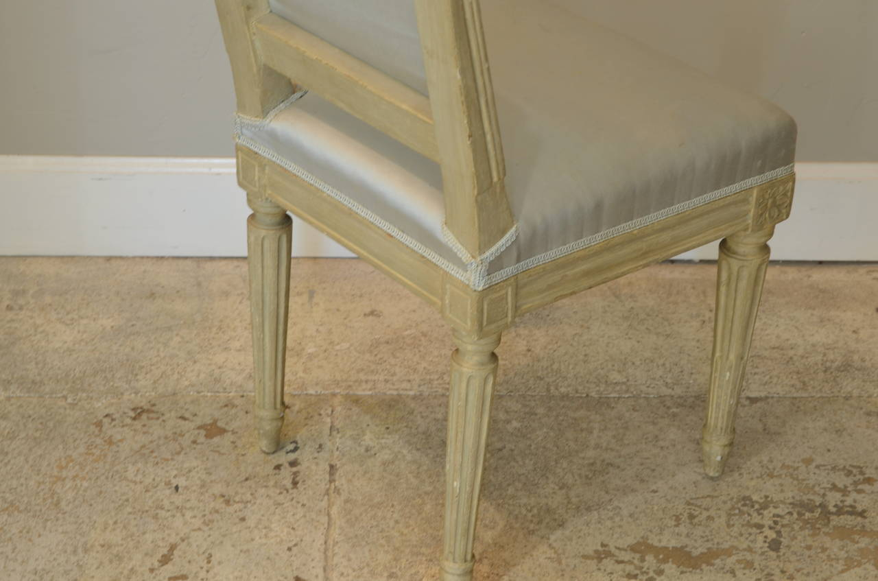 Early 20th Century Pair of Louis XVI Style Side Chairs by Armand-Albert Rateau For Sale