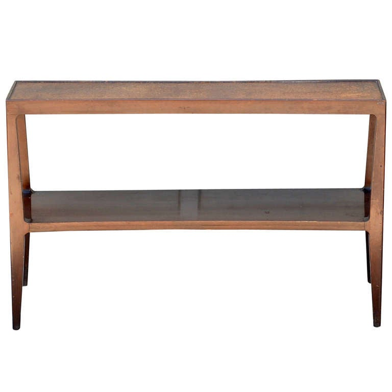Cork Top Console by Edward Wormley for Dunbar