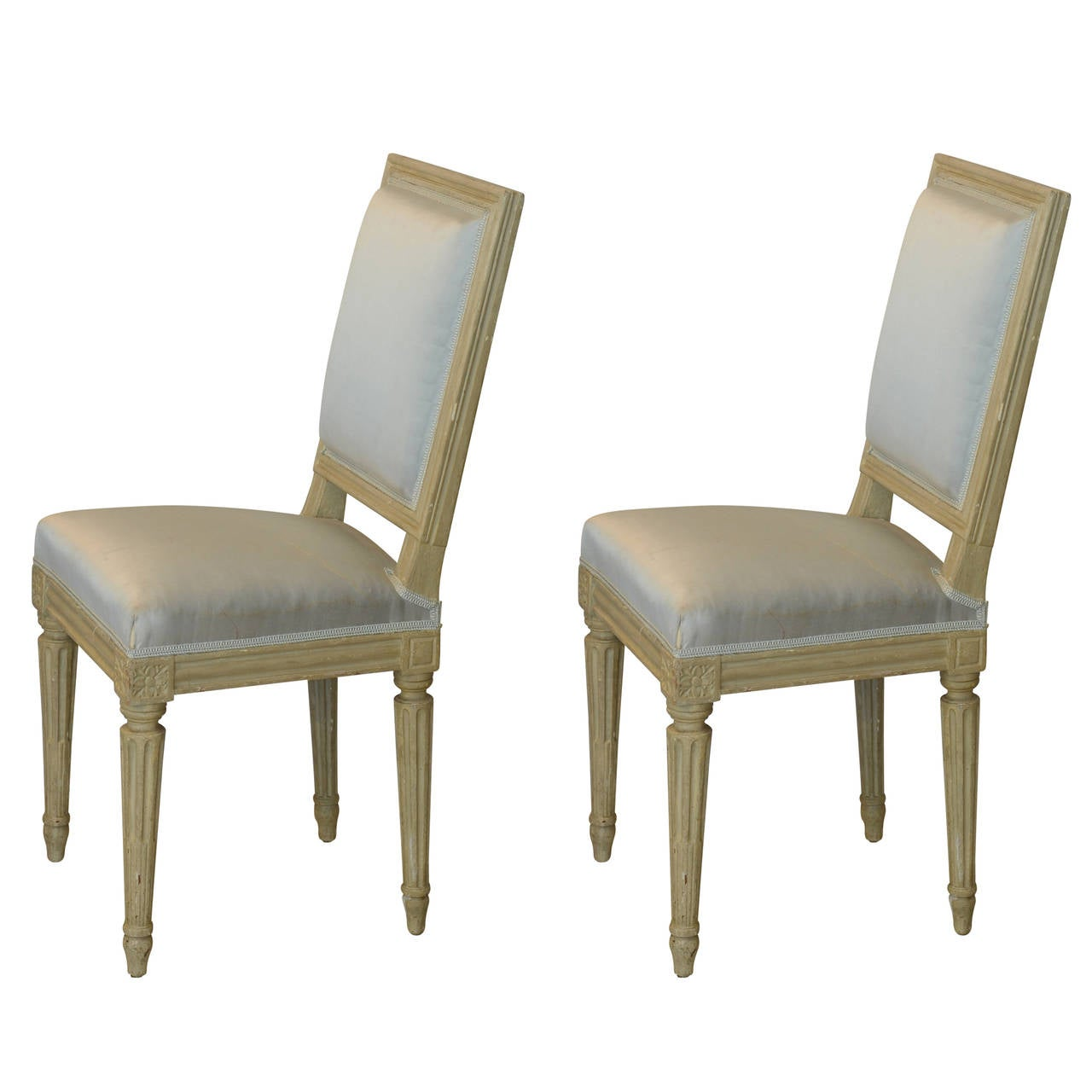 Pair of Louis XVI Style Side Chairs by Armand Albert Rateau 1Pair of Louis XVI Style Side Chairs by Armand Albert Rateau For  . Louis Xvi Style Furniture For Sale. Home Design Ideas