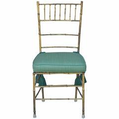 Elegant Chiavari side chair