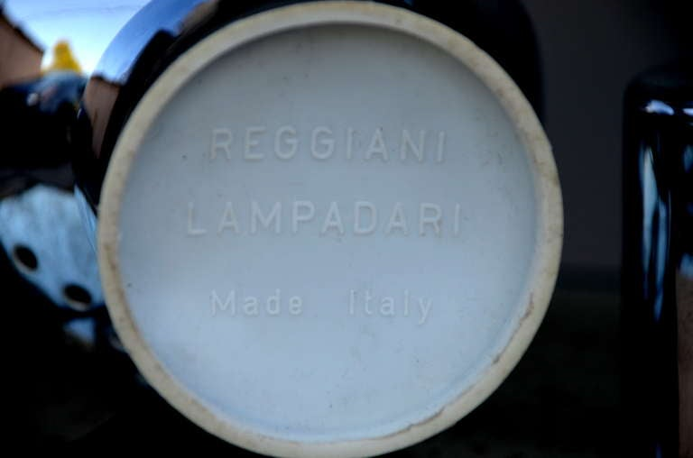 Pair of Articulated Globe Spotlights by Reggiani Lampadari For Sale 5
