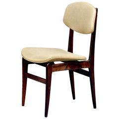Elegant Brazilian Rosewood Side Chair