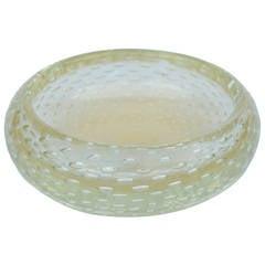 Heavy Barovier e Toso Cordonato d'Oro Bubble Bowl