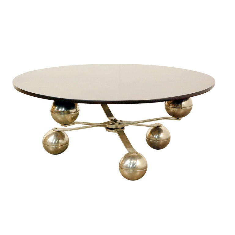 French 70 39 s coffee table at 1stdibs for Coffee tables 70s