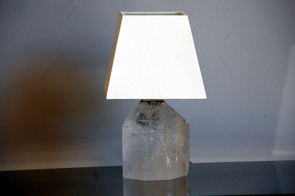this small rock crystal table lamp is no longer available. Black Bedroom Furniture Sets. Home Design Ideas