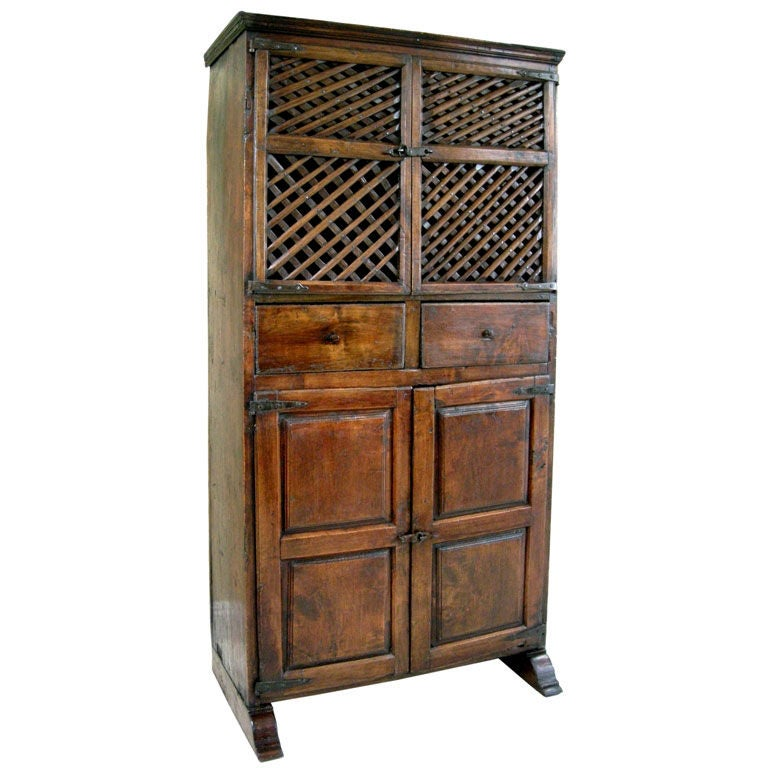 18th c spanish pantry cabinet gmd 2622 at 1stdibs
