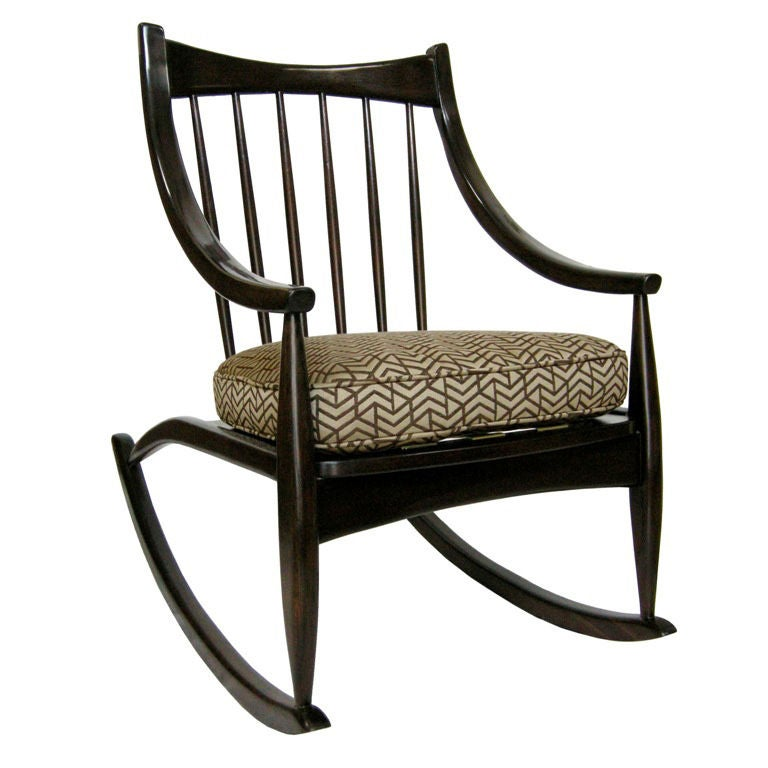 Unique Rocking Chair (GMD#2740) at 1stdibs