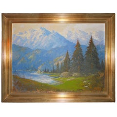 Enchanting Ernest Henry Pohl Painting