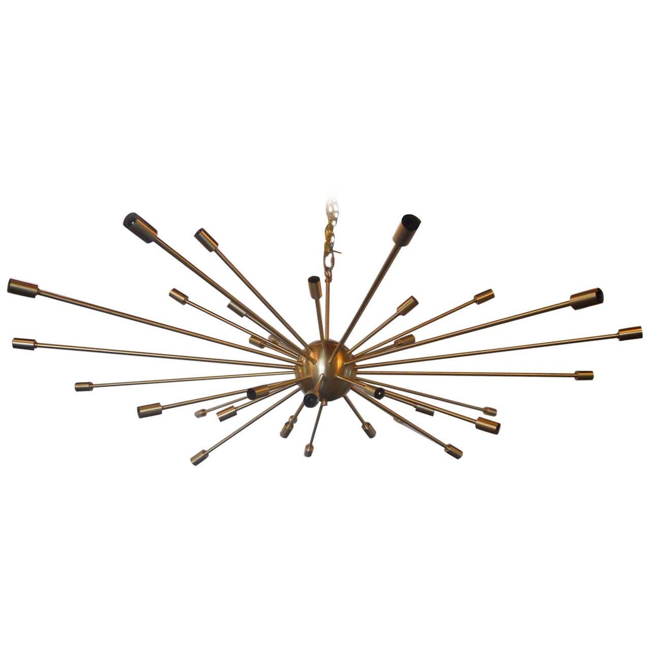 Unique sputnik chandelier at 1stdibs for Sputnik chandelier