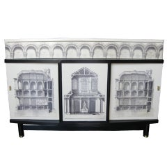 Beautiful Piero Fornasetti cabinet
