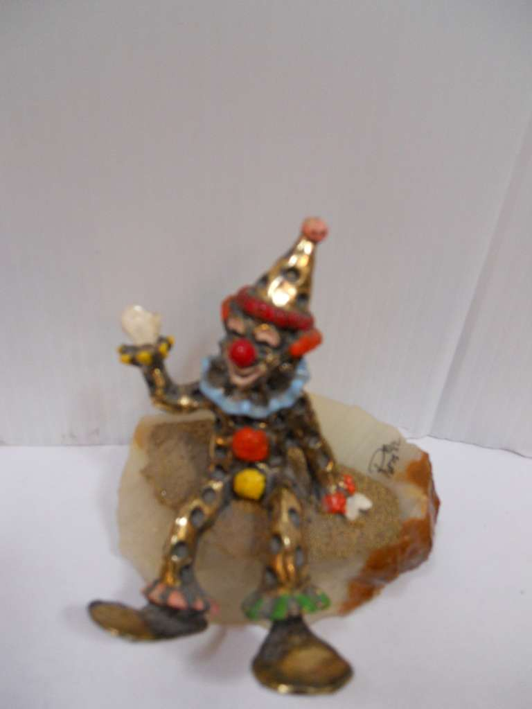Playful Set Of Ron Lee Clowns For Sale At 1stdibs