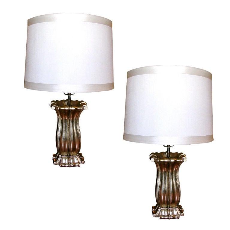 Pair of Capri Lamps by Bryan Cox