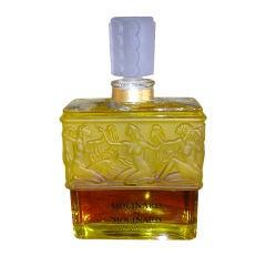 Large Vintage Perfume Bottle by Lalique