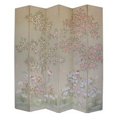 Tall Asian Inspired Screen by Robert Crowder