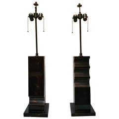 Dynamic Pair of Table Lamps